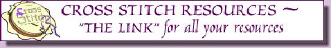 CROSS STITCH BANNER